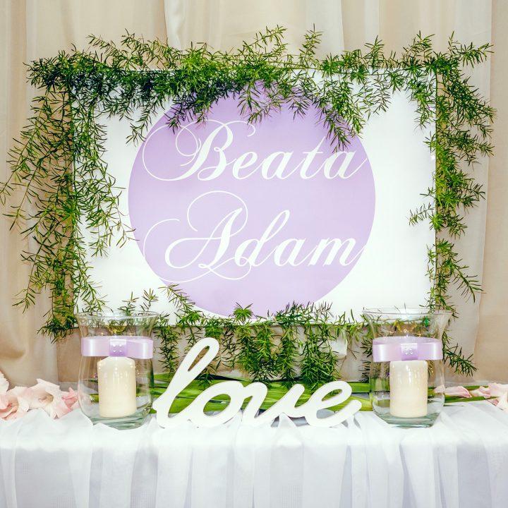 Beata & Adama Wesele