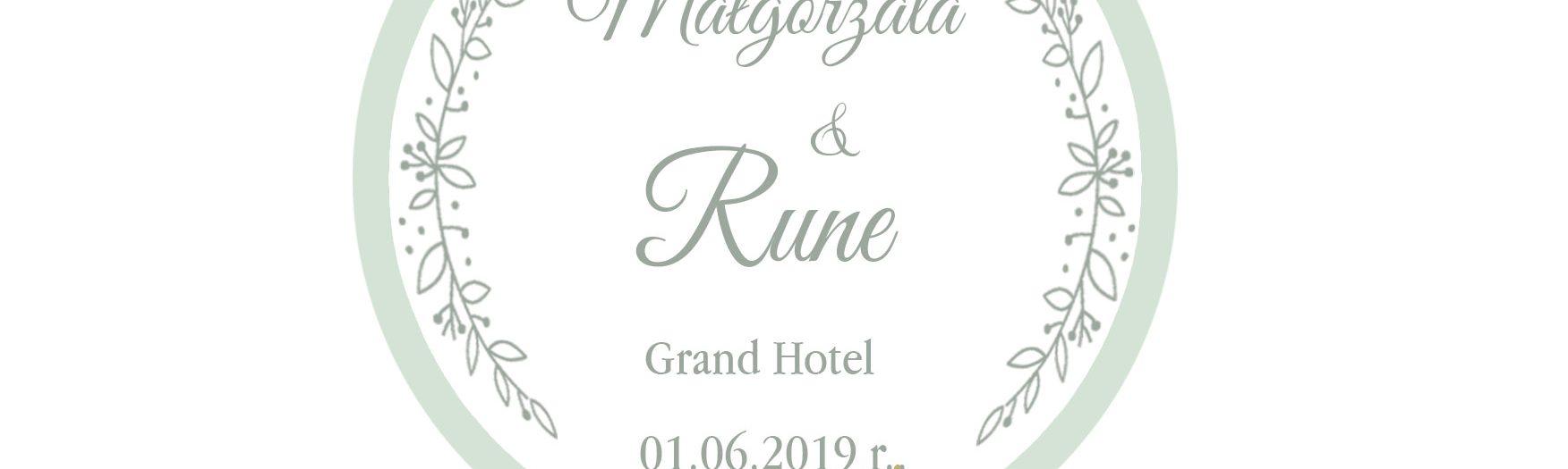Małgorzata&Rune wesele